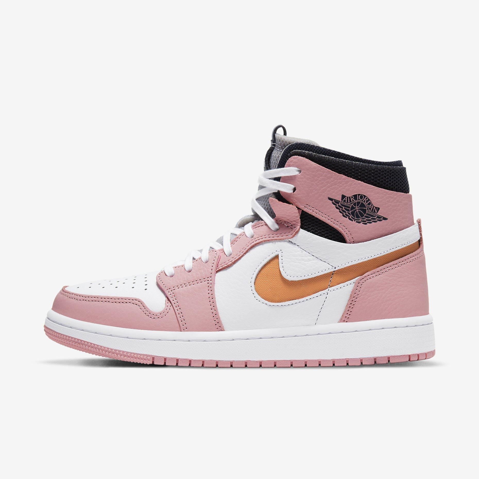 Women's Air Jordan 1 Zoom Air Comfort 'Pink Glaze'}