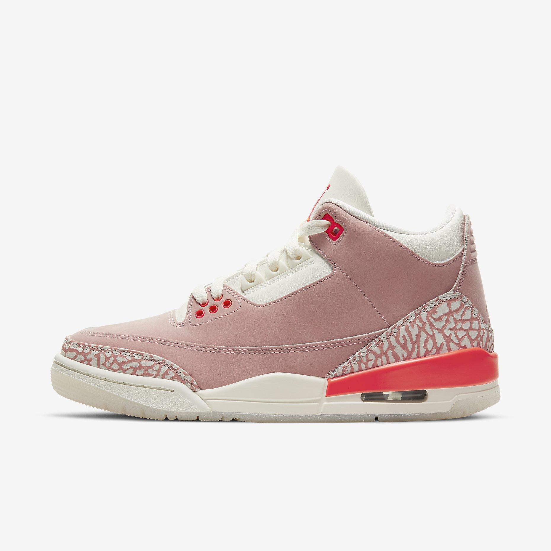 Women's Air Jordan 3 'Rust Pink'}