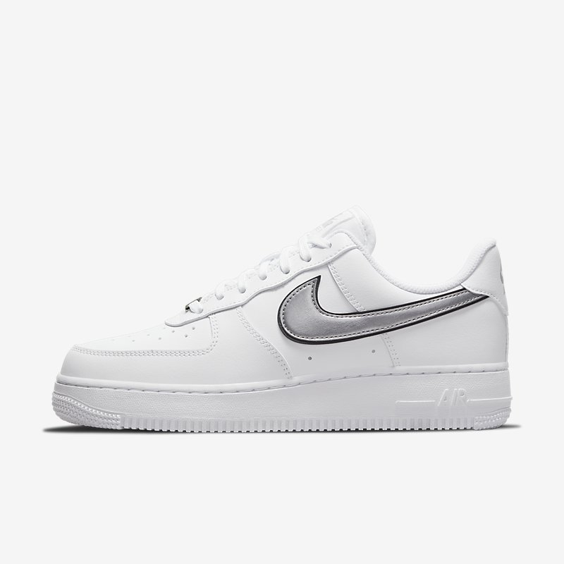 Women's Nike Air Force 1 '07 Essential 'White Metallic Silver'