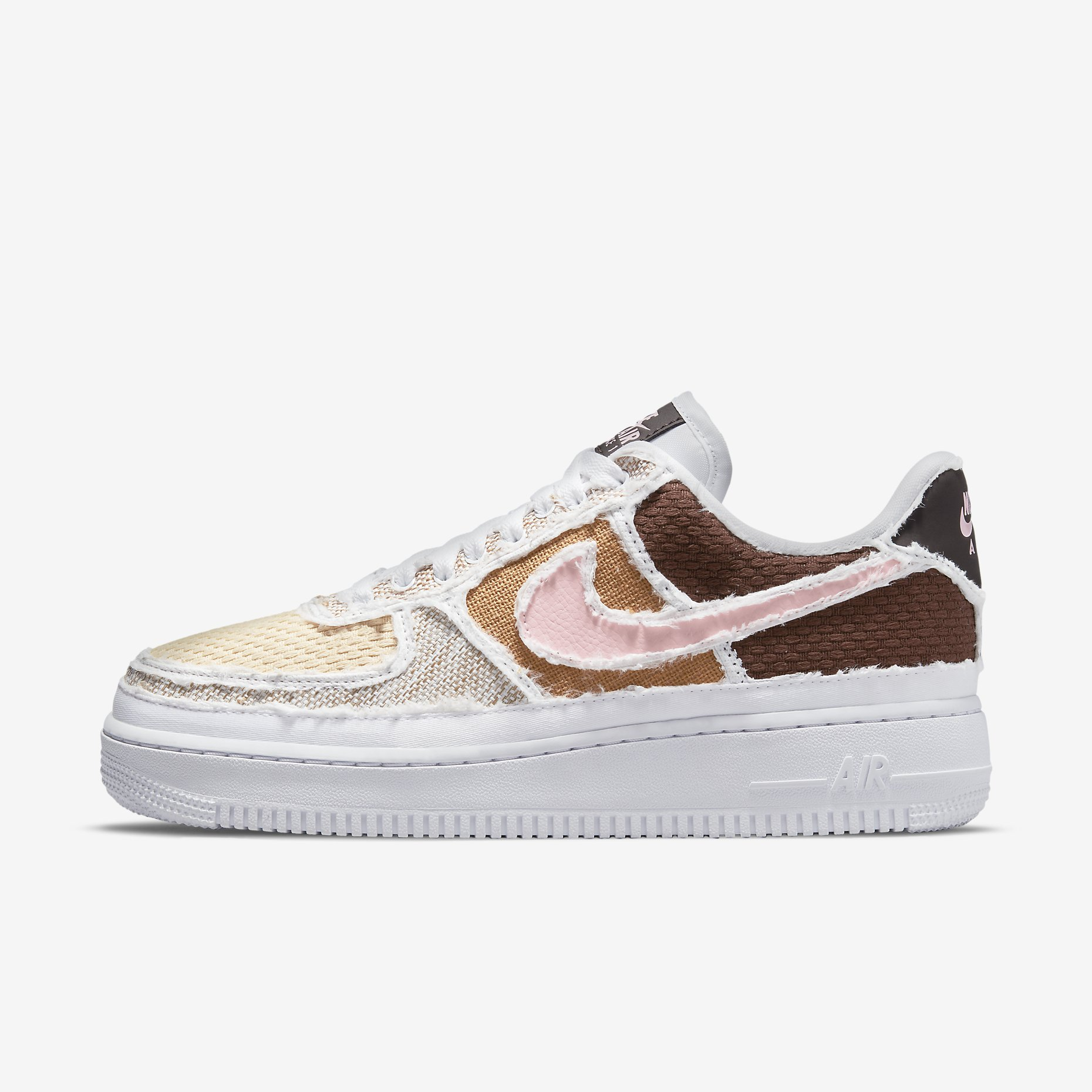 Women's Nike Air Force 1 '07 PRM 'Fauna Brown' - 'Texture Reveal'}