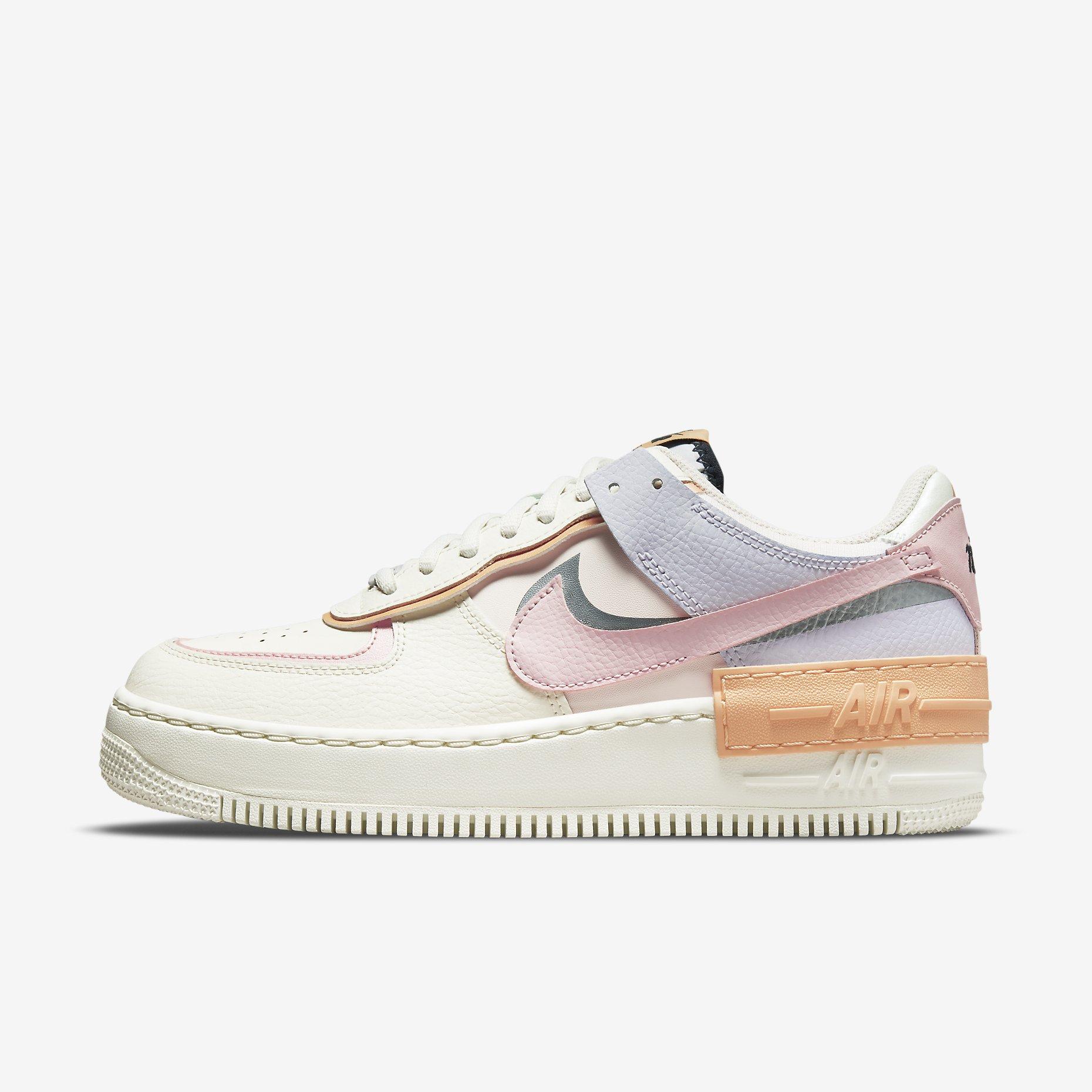 Women's Nike Air Force 1 Shadow 'Sail/Orange Chalk/Pink Glaze'