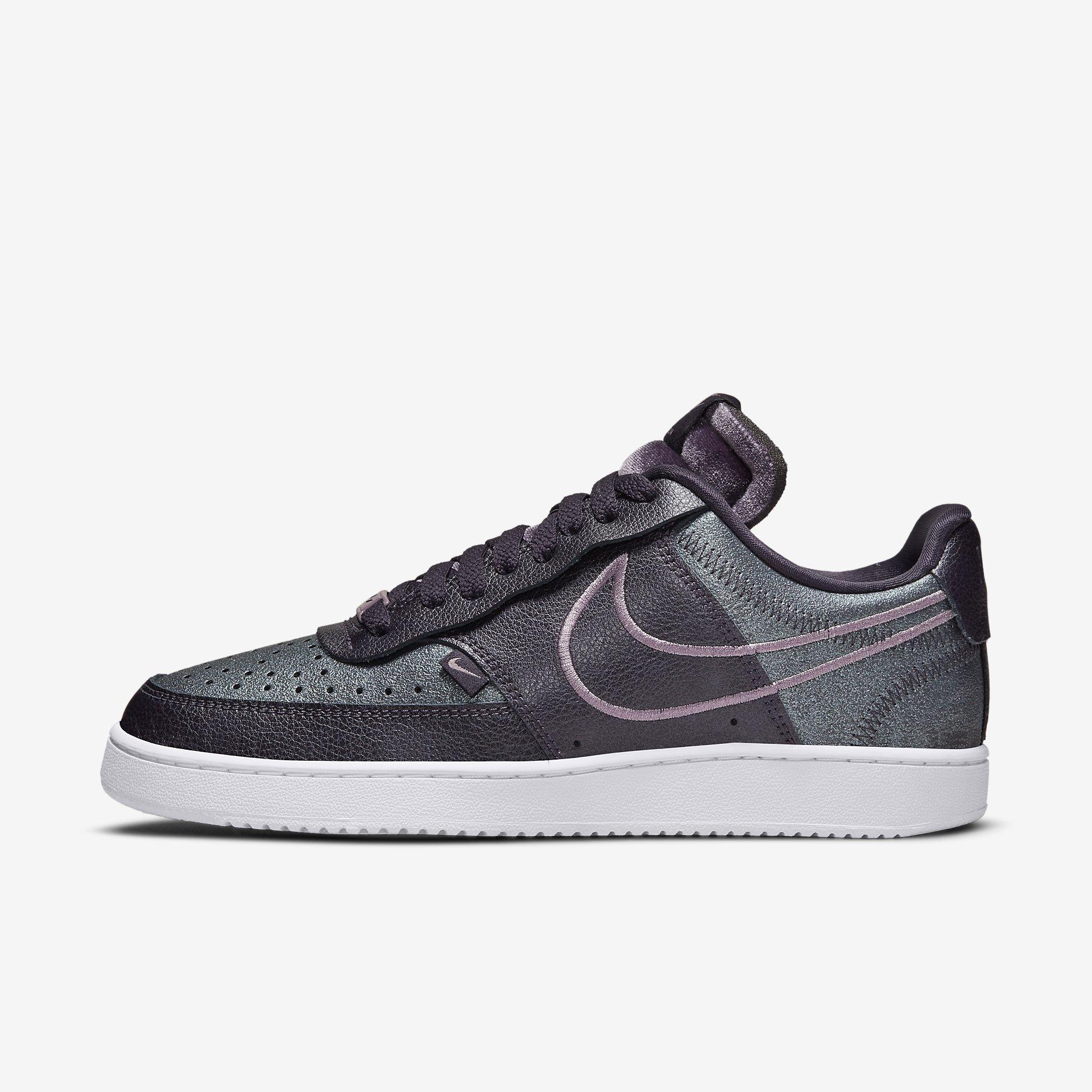 Women's Nike Court Vision Low Premium 'Cave Purple'