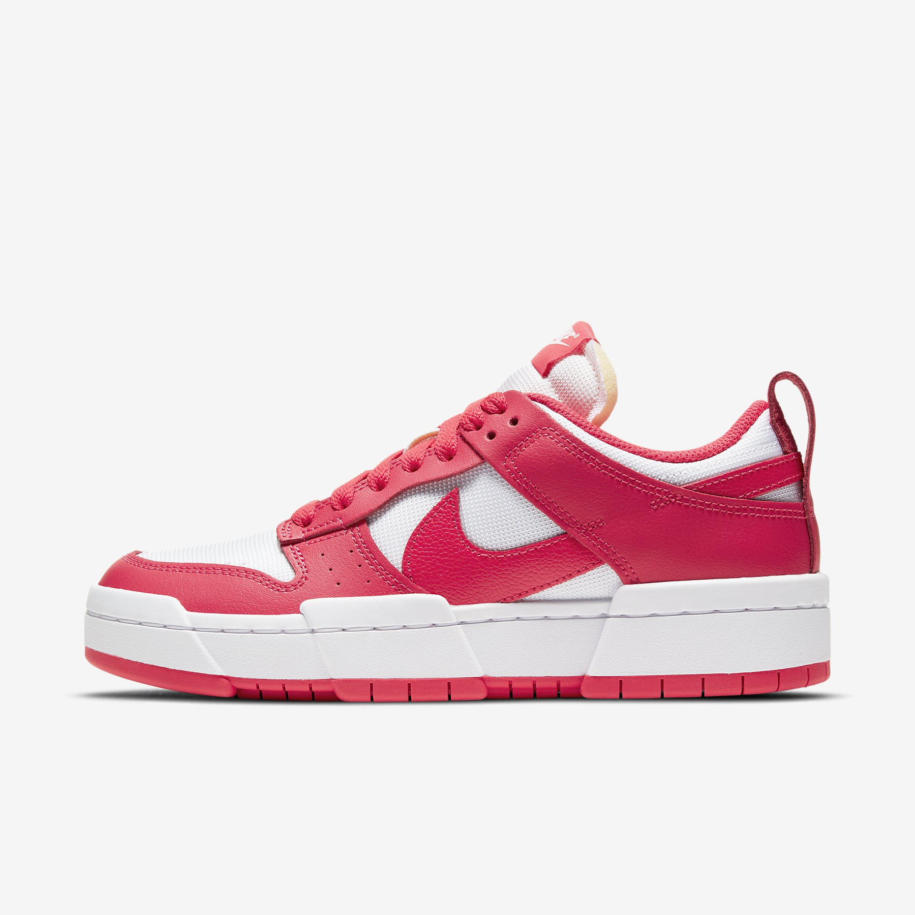 Women's Nike Dunk Disrupt 'Siren Red/White'}