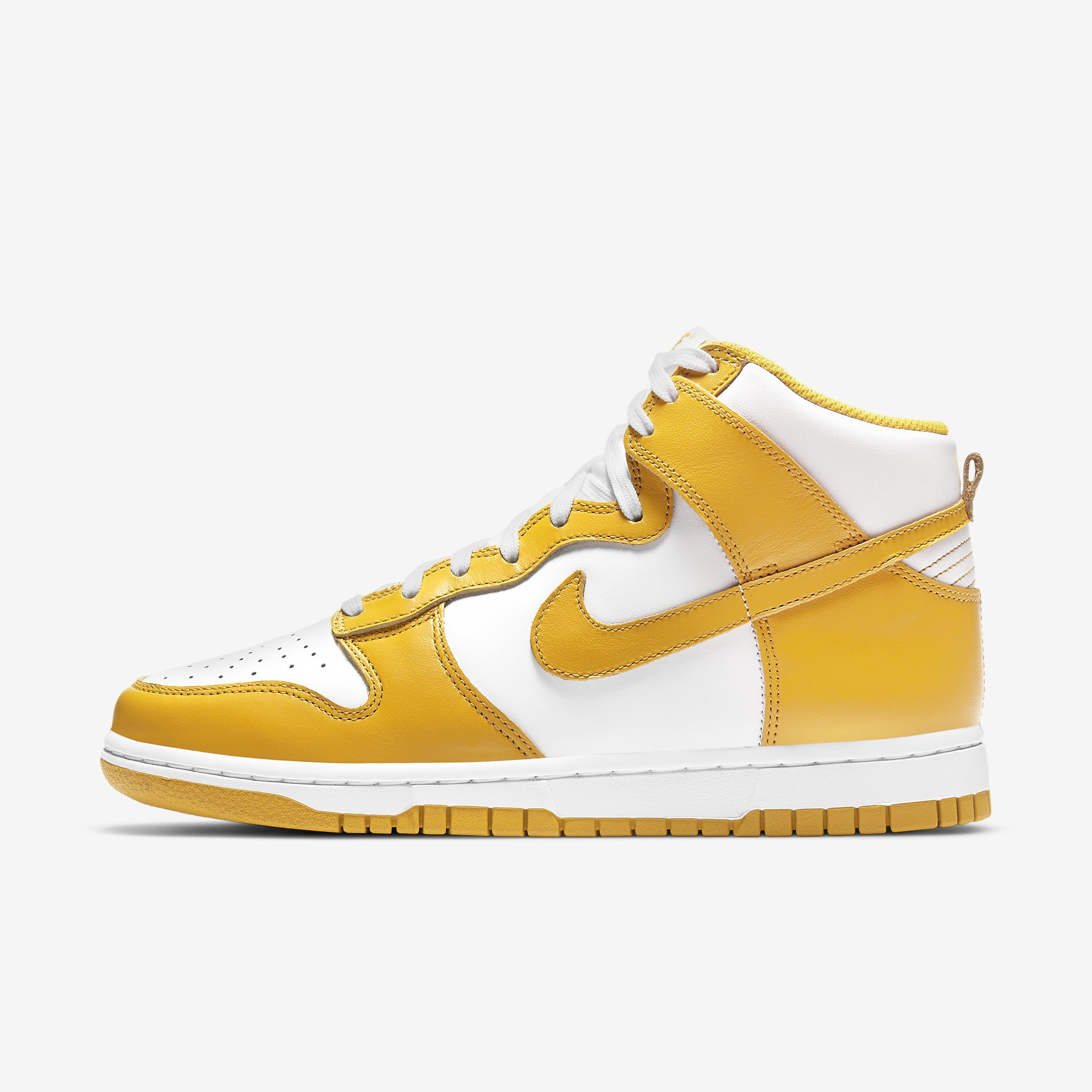 Women's Nike Dunk High 'Dark Sulphur'}