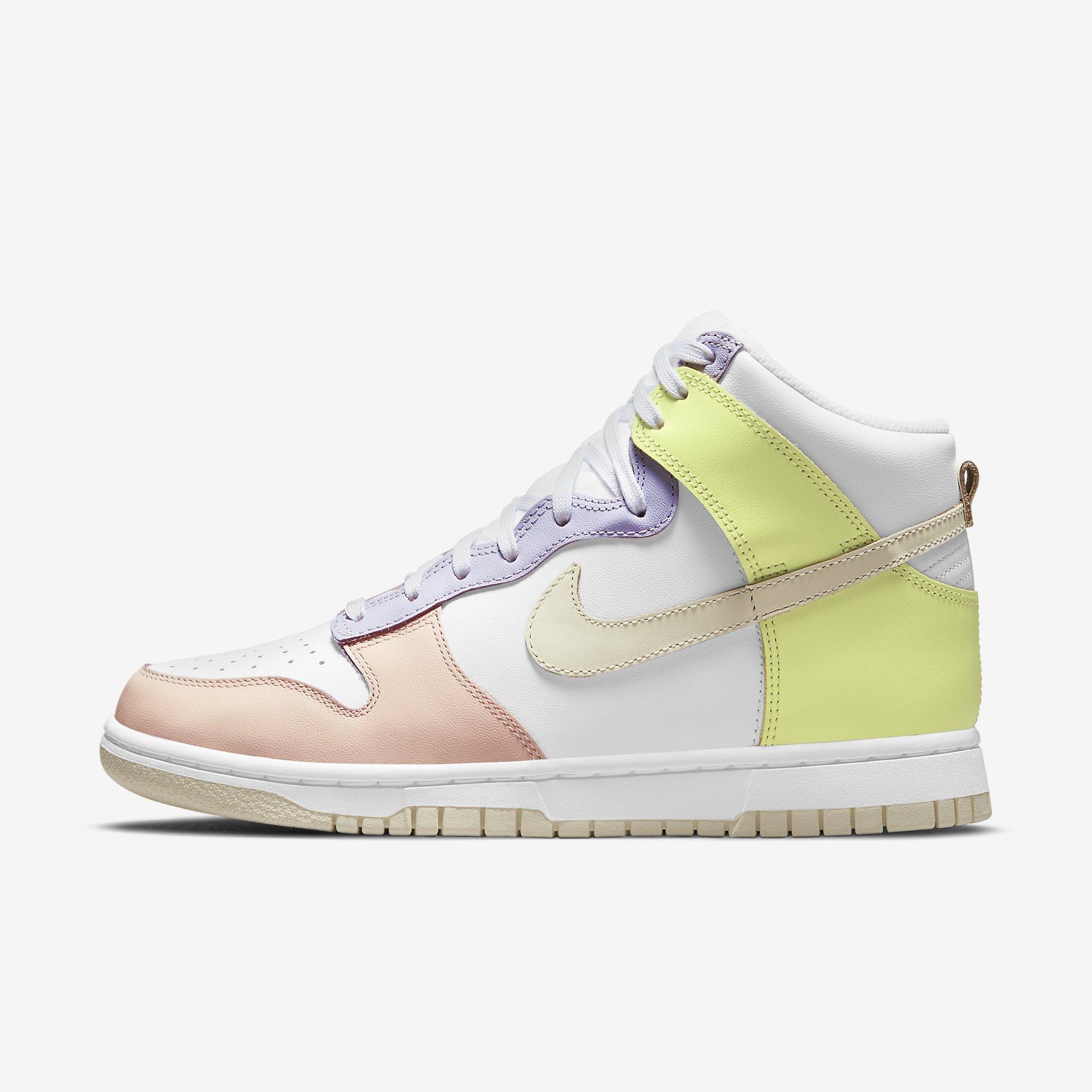 Women's Nike Dunk High 'Lemon Twist'