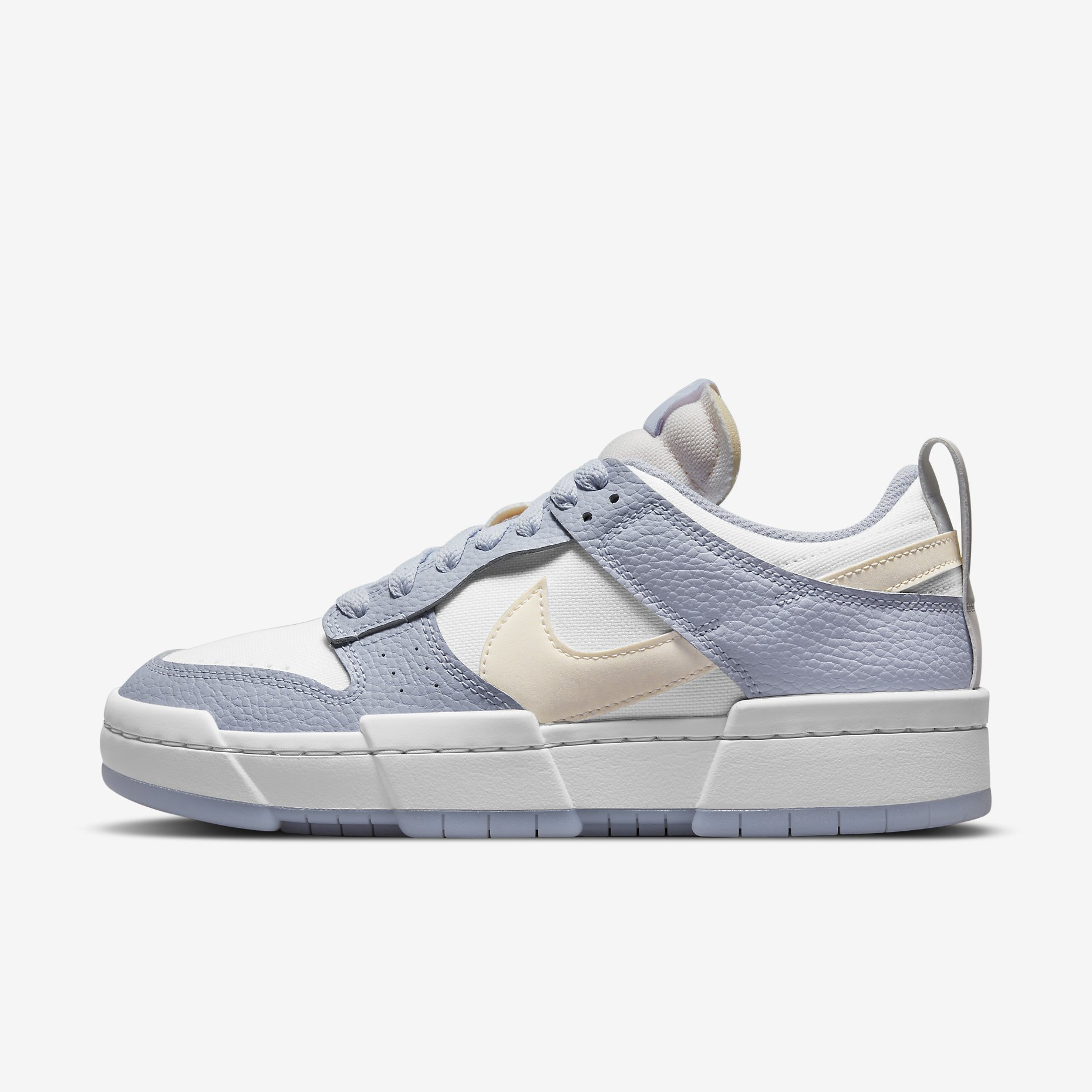 Women's Nike Dunk Low Disrupt ' Summit White Desert Sand Ghost '}