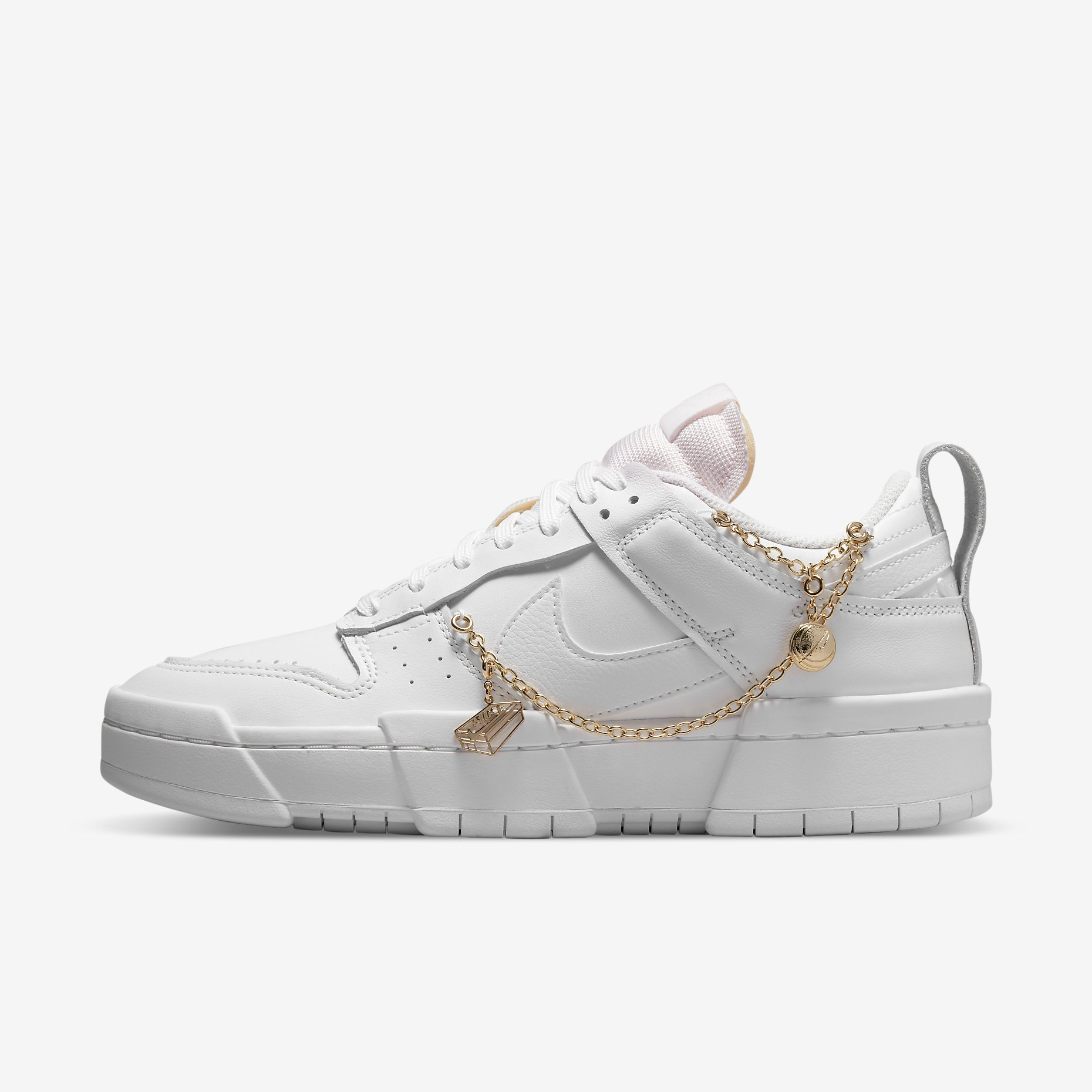 Women's Nike Dunk Low Disrupt 'Gold Charms'