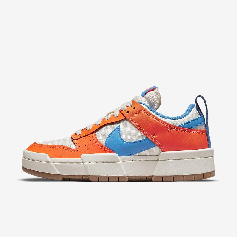 Women's Nike Dunk Low Disrupt 'Light Photo Blue Total Orange'