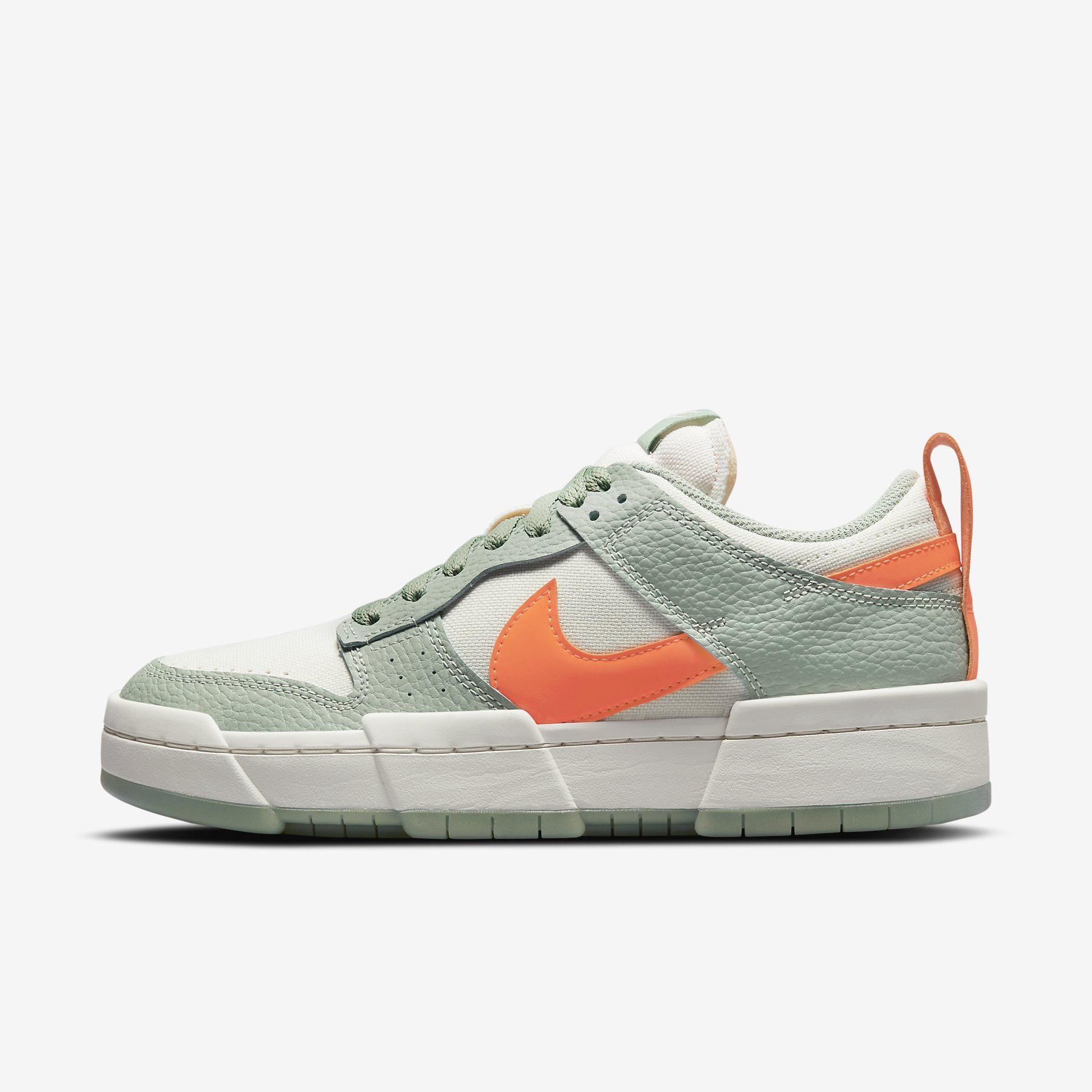 Women's Nike Dunk Low Disrupt 'Sea Glass/Hyper Crimson'}