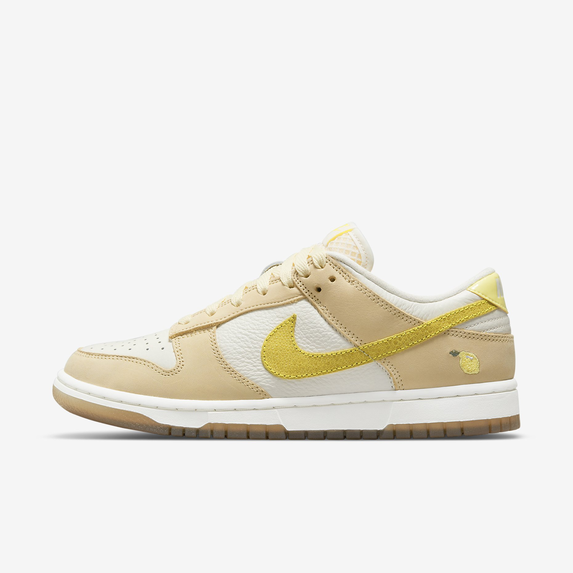 Women's Nike Dunk Low 'Lemon Drop'}