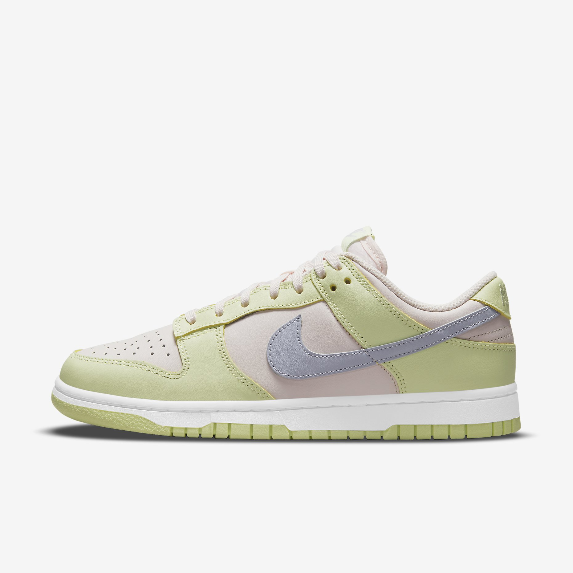 Women's Nike Dunk Low 'Light Soft Pink/Lime Ice'